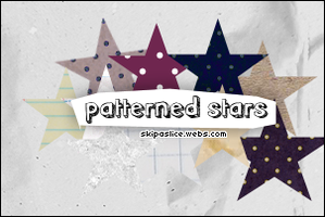 Patterned Stars by superrjessi