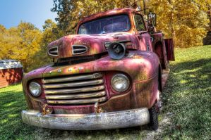 Redfield Fire Truck HDR by joelht74