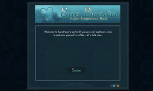 Welcome Page for Sue Brown by ajCorza