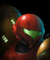 Samus Aran by Alpha-Step