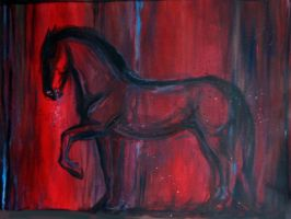 War horse by estellea