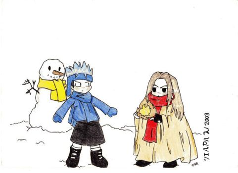 Shaman king S-D by Flor117