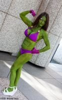 She-Hulk 1 by Insane-Pencil