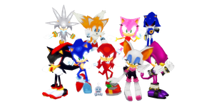 Sonic Rivals 2 model pack download by Oneirio