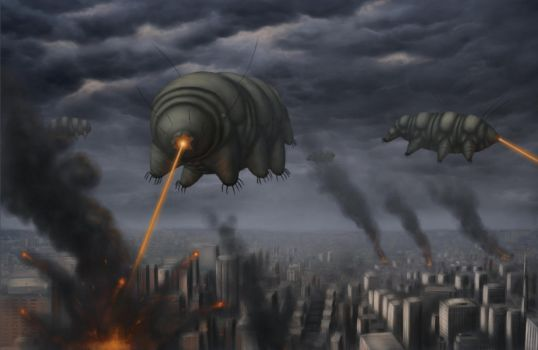 Attack of the tardigrades by Ramul