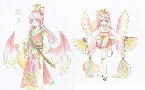 Ho-oh designs by DingDingy