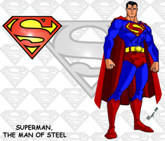 Superman Character Card by skywarp-2