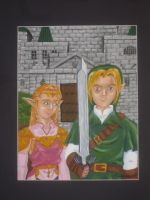 Hyrule Gothic by recycledrapunzel