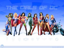Girls of DC by rocinate by DCU-Club
