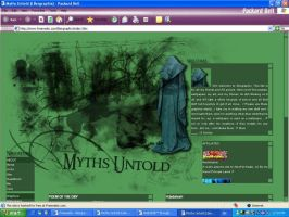 Myths Untold Layout by Tuile