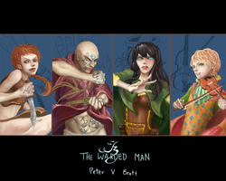 Demon Cycle: the Protagonists by Esphorus
