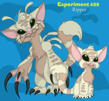 Ripper, Experiment: 489 by pandora-dragon