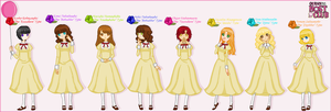 The Ouran Hostess Club by Minjuu
