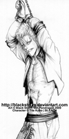 GRIMMJOW -Chained n defiant- by blackstorm