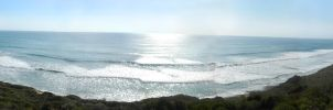 Panorama of the Pacific by abzde