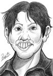 Caricature Cris Velasco by Pepowned
