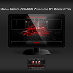 Digital Circuits AIRLOCK wallpaper by Designfjotten