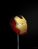 Iron Man Mask by Elayez