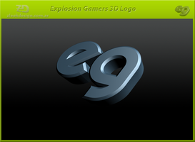 Explosion Gamers - Logo 3D by nekarg