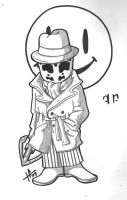 rorschach rough sketch by tabby-like-a-cat