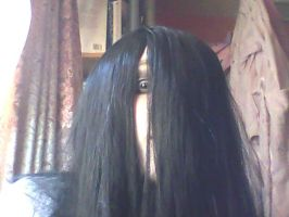 Me as Kayako by ANGELWOLFCHILD