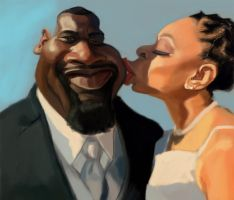 Newly Weds WIP 2 by DoodleArtStudios