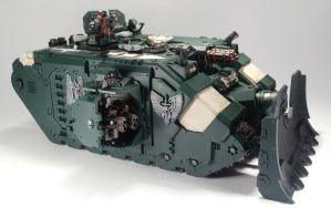 WIP Landraider Ares -  Stage 4 - Close to the end by Elmo9141