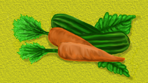 carrots and cucumbers by December012