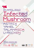 Infected Mushroom poster by SeBDeSiGN