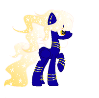Mystery pony for Bristle-adopts #5 by sakurahae