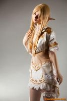 Lineage II throne elf by Seranaide