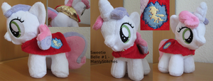 Sweetie Belle #1 by ManlyStitches