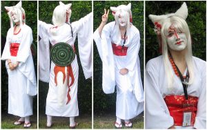 Amaterasu Cosplay Fanime 2008 by animatey