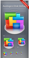 Icon Auslogics Disk Defrag by ncrow