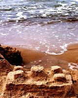 castle in the sand by Kuna-Aayla-Secura