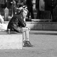 The man at Citizens Plaza by attomanen