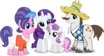 Rarity's Family by Vector-Brony