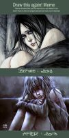Draw It Again: 2010 vs 2013 by NanFe