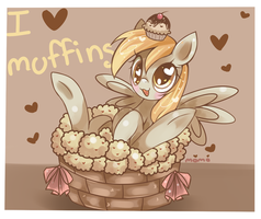 DERPY LOVES MUFFINS DEAL WITH IT by Fumuu