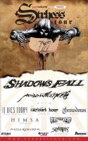 Strhess Tour 2006 Poster by gomedia