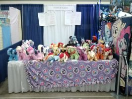 My booth before opening on Friday by Xsjado78