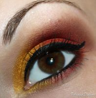 Red and Gold by Talasia85