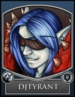 BC2013 Badge Djtyrant by Noxychu