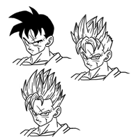 John Connor...er, Gohan by The-Devils-Corpse