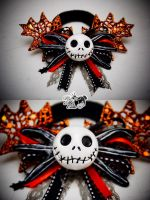 Jack Skellington Hair Tie by xxpo0k13x