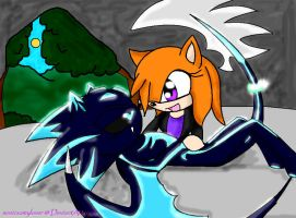 Blue and Kim :3 by sonicxamylover
