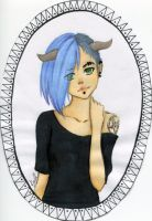 horned by Stich-tyan