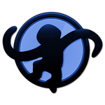 Media Monkey Blue Icon by Ametuer