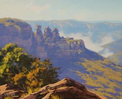 Three Sisters Katoomba by artsaus