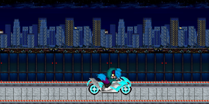 on my bike at night by darksoul4